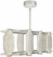 Fine Art Lamps 897240-11ST Allison Paladino Modern Silver LED Island Lighting