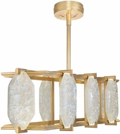 Fine Art Lamps 897240-21ST Allison Paladino Contemporary Gold LED Kitchen Island Lighting