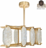 Fine Art Lamps 897240-31ST Allison Paladino Modern Bronze LED Kitchen Island Light