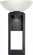 Fine Art Handcrafted Lighting 898781 Delphi Outdoor Contemporary Black LED Outdoor Wall Lighting