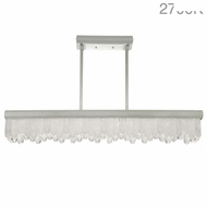 Fine Art Lamps 898940-11 Lior Contemporary Silver LED Island Lighting