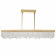 Fine Art Lamps 898940-2 Lior Contemporary Gold LED Kitchen Island Lighting