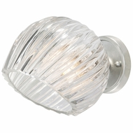 Fine Art Lamps 899650-1 Nest Modern Silver LED Wall Sconce