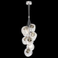 Fine Art Lamps 899740-19SQ Nest Contemporary Silver LED Mini Chandelier Lighting