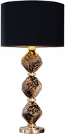 Fine Art Lamps 900010-33 SoBe Brass Table Lamp Lighting