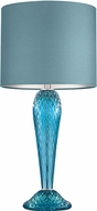Fine Art Lamps 900210-111 SoBe Silver Side Table Lamp