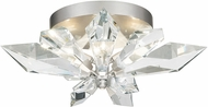 Fine Art Lamps 901840-1 Foret Silver Ceiling Light