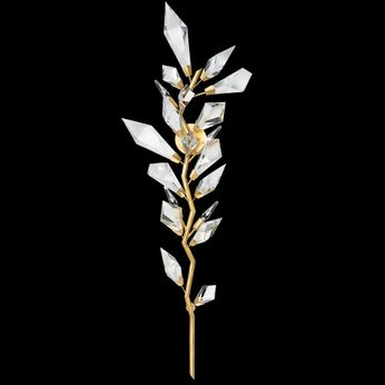Fine Art Handcrafted Lighting 902050-2 Foret Gold Wall Sconce Light