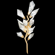 Fine Art Handcrafted Lighting 902250-2 Foret Modern Gold Wall Lamp