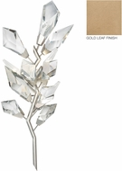 Fine Art Lamps 902250-2 Foret Gold Wall Sconce Lighting