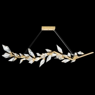 Fine Art Lamps 902440-2 Foret Contemporary Gold Kitchen Island Lighting