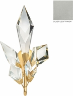 Fine Art Lamps 907250-1 Foret Silver Wall Light Fixture