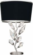 Fine Art Lamps 908010-11 Foret Modern Silver Table Lamp Lighting
