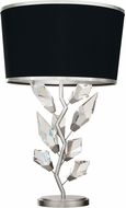 Fine Art Lamps 908010-11 Foret Silver Table Light