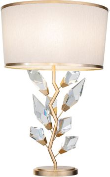 Fine Art Handcrafted Lighting 908010-2 Foret Contemporary Gold Table Lamp