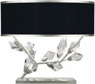 Fine Art Lamps 908510-11 Foret Contemporary Silver Table Top Lamp