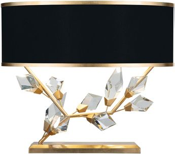 Fine Art Lamps 908510-21 Foret Contemporary Gold Table Lamp