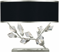 Fine Art Lamps 908610-11 Foret Modern Silver Table Lighting