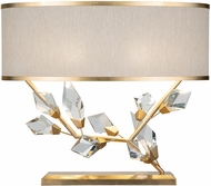 Fine Art Lamps 908610-2 Foret Contemporary Gold Side Table Lamp