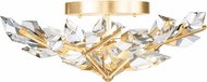 Fine Art Lamps 908740-2 Foret Gold Ceiling Light