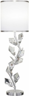 Fine Art Lamps 908815-1 Foret Contemporary Silver Table Light