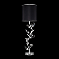 Fine Art Lamps 908815-11 Foret Contemporary Silver Table Lamp