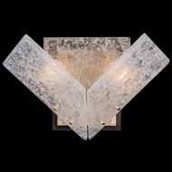 Fine Art Handcrafted Lighting 910250-2 Lunea Contemporary Gold Wall Lamp