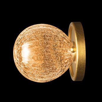 Fine Art Handcrafted Lighting 911650-2AB Nest Contemporary Gold Wall Light Fixture