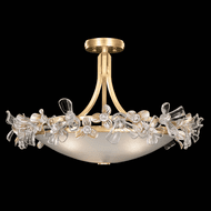 Fine Art Lamps 915540-2 Azu Gold LED Ceiling Light