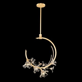 Fine Art Lamps 918040-2 Azu Gold LED Pendant Lighting Fixture