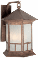 Forte 1038-04-41 Rustic Sienna Outdoor Wall Sconce Lighting