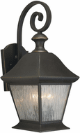Forte 1046-03-14 Royal Bronze Exterior Wall Lighting Sconce