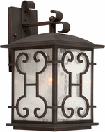 Forte 1136-01-32 Traditional Antique Bronze Exterior Wall Sconce Lighting