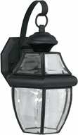 Forte 1201-01-04 Black Outdoor 14 Wall Sconce Light