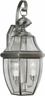 Forte 1301-02-34 Antique Pewter Exterior 21 Wall Light Fixture