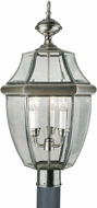 Forte 1604-03-34 Antique Pewter Outdoor Post Light