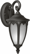 Forte 17048-01-04 Traditional Black Outdoor 14 Wall Light Sconce