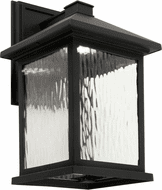 Forte 17100-04 Black LED Outdoor Wall Sconce