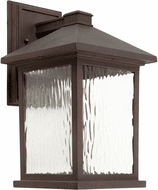 Forte 17100-32 Antique Bronze LED Exterior Wall Lamp