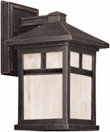 Forte 1773-01-28 Painted Rust Exterior Lamp Sconce