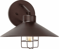 Forte 1809-01-32 Antique Bronze Exterior 12 Wall Mounted Lamp