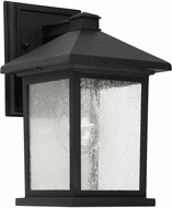Forte 1855-01-04 Black Outdoor 11 Wall Light Sconce