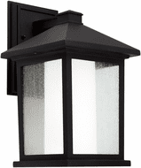 Forte 1857-01-04 Black Outdoor 14 Wall Sconce
