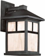 Forte 1873-01-04 Black Exterior 14 Wall Lamp