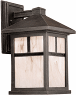 Forte 1873-01-28 Painted Rust Outdoor 14 Wall Lighting