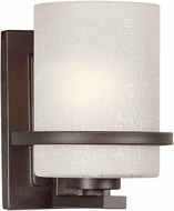 Forte 2404-01-32 Contemporary Antique Bronze Lamp Sconce