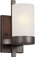 Forte 2548-01-32 Modern Antique Bronze Wall Lighting Sconce