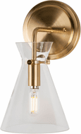 Forte 5733-01-12 Beaker Contemporary Soft Gold Wall Sconce