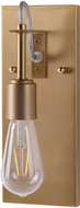 Forte 7113-01-12 Fergie Modern Soft Gold Wall Mounted Lamp