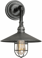 Forte 7359-01-49 Industrial Gray Exterior Wall Mounted Lamp